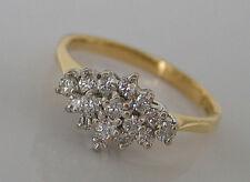 WoW ✨ 0,30 ct. Brillanten Ring in aus 18kt 750 Gold mit Brillant Diamant Diamond