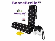 BoozeBrella® by Smuggle Mug®. Disguised 9oz Umbrella Flask Free US Shipping