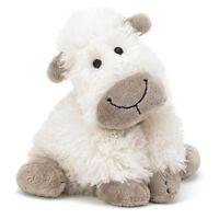New! Jellycat Plush Pillow Toy - Truffles the Sheep (Medium/15 inch/38 cm) NWT