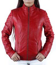 Giacche rossi per motociclista taglia 42