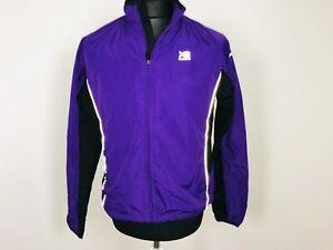 Karrimor Cycling Cycle Jacket Purple Bike Rainjacket Windstopper Womens Size 12