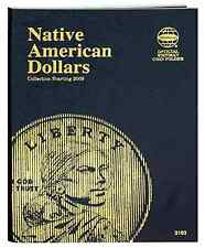 Whitman Coin Folder 3163 Native American Dollars 2009-2012D