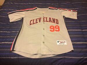 Rick Vaughn Cleveland Indians Jersey