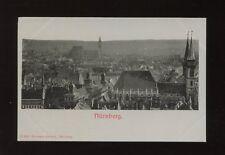 Germany NURNBERG General View early c1902 u/b PPC