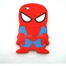 Cover CUSTODIA per IPHONE 4 4S Silicone 3D SPIDERMAN UOMO RAGNO SUPEREROI