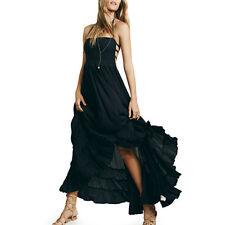 Boho Sleeveless Dresses Backless