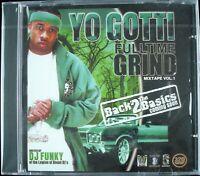 "YO GOTTI ""FULLTIME GRIND MIXTAPE VOL. 1"" 2005 PROMO MIXED CD 22 TRACKS *SEALED*"