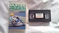 VHS Video Cassette - ULSTER BIKE GP 1995 - Joey Dunlop