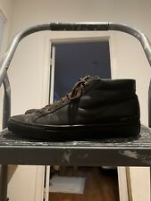 Common Projects Achilles Mid Brown Leather Sneaker Size 42