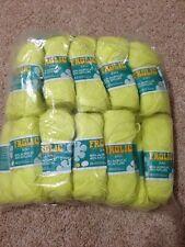 Panda Frolic Acryliic And  Nylon 8 Ply Knitting Yarn 25 Gm  X 22 Balls Yellow