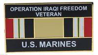 US Marines Operation Iraqi Freedom Veteran Ribbon Hat or Lapel Pin H14548D9