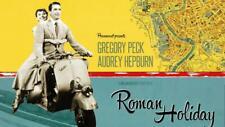 Roman Holiday Audrey Hepburn Gregory Peck 35mm Film Cell strip very Rare var_e