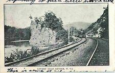Baltimore & Ohio, B & O RR Train at Lovers' Leap, Keyser WV 1907