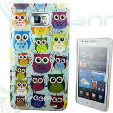 Pellicola+Custodia cover GUFI colorati per Samsung Galaxy S2 i9100  Nuova