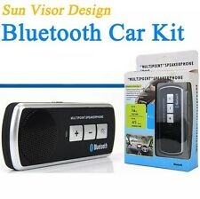 Bluetooth Car Speakerphone Kit for iPhone 4 4S 5 Connectivity Hand Free