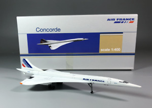 1:400 Air France supersonic Concorde alloy passenger aircraft static model