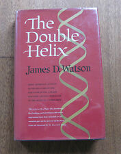 THE DOUBLE HELIX by James D. Watson - 1st/4th HCDJ - DNA 1968 medicine NF  $5.95