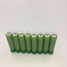 8x AAA etinesan nizn battery 1000MWH 1.6v  rechargeable battery motion camera.