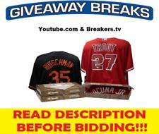 Detroit Tigers 2021 Hit Parade Autograph Baseball Jersey Live Break #16