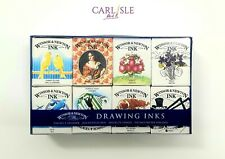 Winsor & Newton Drawing Inks Henry Collection 14ml Set of 8 Colours