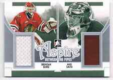 2013-14 BETWEEN THE PIPES ASPIRE BRENDAN BURKE MIKE SMITH JERSEY 2 COLORS