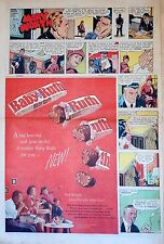 Mary Worth comic w/ Baby Ruth Candy ad - Feb. 1961 Sunday comic full page ad