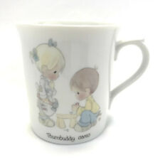 Precious Moments Thumbuddy cares mug 1984