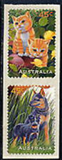 Australia, Sc#1564-65, MNH, 1996, Cats, Dogs, Topical Stamps, 1018