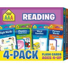 Reading Flash Cards 4 Pk