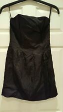 Ladies Divided Little Black Dress by H&M size UK12 EUR 40 Casual Nights Summer