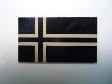 """NORWAY IR PATCH TAN + MAGIC BLACK 3.5""""X2"""" REJECT#349 WITH VELCRO® BRAND FASTENER"""