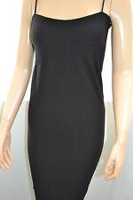 Wolford Zen Nijama Dress Kleid black schwarz Medium Spaghetti Träger