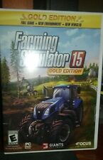 Farming Simulator 15: Gold Edition (PC, 2015) *UNUSED ACTIVATION KEY*