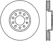 StopTech Disc Brake Rotor Slotted Front-Rear Right for Audi / Seat / Volkswagen