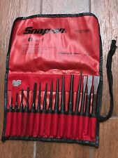 SNAP-ON TOOLS 16 PIECE PUNCH AND CHISEL SET IN KIT BAG PPC715BK