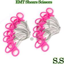 12 Pc Emt Shears Scissors Bandage Paramedic Ems Supplies 55 Pink