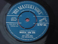 Joe Loss & His Orchestra : Wheel-Cha Cha / Latino-Cha Cha : HMV : 45-POP 880