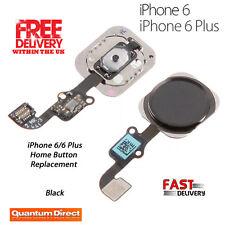 NUEVO PREMIUM Completo Botón De Inicio recambio para iPhone 6/6 Plus - Negro