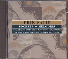 ERIK SATIE - socrate + melodies CD