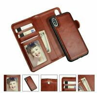 2 in 1 Case Samsung S20 S20+ S20 Ultra Magnetic Flip Leather Wallet Luxury Cover