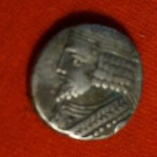 MUSEUM PURCHASE 40,45 AD ROMAN GREEK SILVER COIN Parthian Empire  VARDENS TYCHE