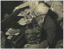 Italia, Achille Lauro, Sindaco di Napoli  Vintage silver print Tirage argentiq