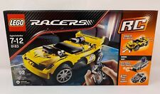 New Lego Rc Racers Retired Radio Controlled 8183 Track Turbo RC Sealed 92 Pcs