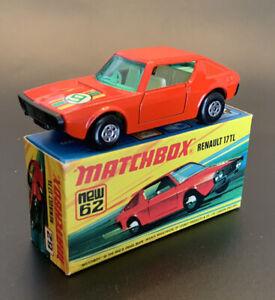 Matchbox Superfast #62 RENAULT 17 TL - NEW w/Original Box - 1974