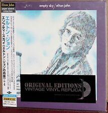 JAPAN Made CD UICY-9100: ELTON JOHN - Empty Sky - OBI 2001 OOP SEALED