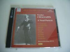 FEODOR CHALIAPIN: A VOCAL PORTRAIT 2CD MUSSORGSKY TCHAIKOVSKY MOZART BELLINI...