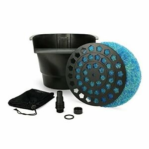 Aquascape Pond Filter and Waterfall Spillway Efficient Mechanical and Biologi...