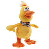 Babies Electric Singing Dancing Duck Figure Soft Plush Doll Adorable Animal