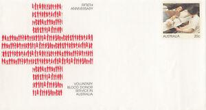 (13827) Australia Postal Stationery Mint Blood Donor Service