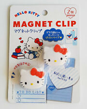 CUTE HELLO KITTY Magnet Clip 2 pieces SANRIO KAWAII